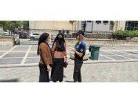 Cizre polisi 112 acil çağrı merkezi hattı hakkında vatandaşları bilgilendirdi