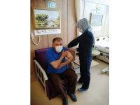 Çankırı'da 100 bininci Covid-19 aşısı uygulandı
