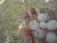 Tokat'a ceviz büyüklüğünde dolu yağdı