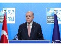 """Cumhurbaşkanı Erdoğan: """"NATO'nun küresel sınamalar karşısında daha etkin inisiyatifler üstlenmesi gerekmektedir"""""""