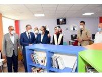 Şehit Ayhan Yanık'ın ismi mezun olduğu okulun kütüphanesine verildi
