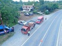 Giresun'da drone destekli trafik denetimi gerçekleştirildi