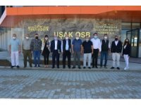 İş dünyasından Uşak OSB Teknoparka ziyaret