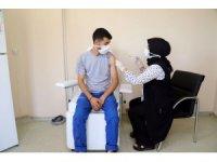 Mobil aşı ekipleri Mersin'de hizmet vermeye başladı