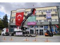 Isparta Belediyesine 2 yeni iş makinesi