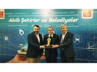 Şanlıurfa Büyükşehir belediyesi akıllı ulaşımda ödülünü aldı