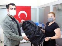 Talas Belediyesi'nin asker çantasına yoğun talep