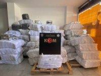 Silifke'de 1.8 ton gümrük kaçağı çay ele geçirildi
