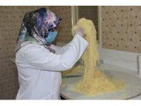 Erzincan'ın yöresel tatlılarından kesme kadayıf, Coğrafi İşaret Tescil Belgesi aldı