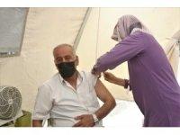 Van'da kurulan stantlarda 240 bin kişi aşı oldu
