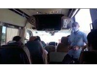 Jandarma yolcu taşıtlarını yolcu gibi binip denetledi