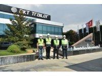 Aydın Valisi OKT Trailer firmasını yetkilileri ile görüştü