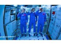 """Çin uzay istasyonunun çekirdek modülü """"Tianhe"""" görüntülendi"""