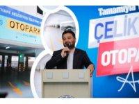 Kağıthane'de bir otopark daha yenilenerek hizmete açıldı
