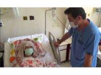 Safra kesesi şikayeti ile geldi, karnından 15 kilonun üzerinde tümör çıktı