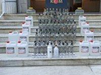 Bozdoğan'da sahte alkol operasyonu