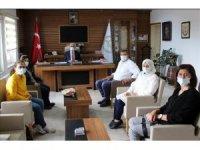 Kadın üreticilerden İl Müdürü Akyol'a ziyaret