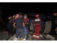 Fethiye'de iki otomobilin çarpıştığı kazada 2'si ağır 8 kişi yaralandı