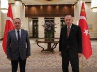 Başkan Saygılı, Cumhurbaşkanı Erdoğan ile görüştü