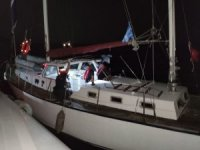İzmir açıklarında kaçak göçmen hareketliliği