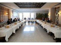 Başsavcı Bıçakcı ve Adalet Komisyonu Başkanı Bilgin için veda yemeği düzenlendi