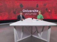"""Rektör Karacoşkun, """"Bengü Kantekin ile Üniversite Yolunda"""" programına katıldı"""