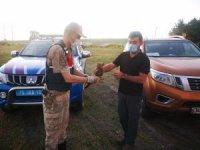 Jandarmanın yaralı halde bulduğu Bozkır Kartalı tedavi altına alındı