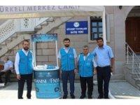 Türkeli'de 'Kurbanını Paylaş, Kardeşinle Yakınlaş' standı açıldı