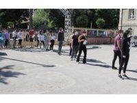 Sınav günü gürültü kirliliği yapılmaması yönünde uyarı