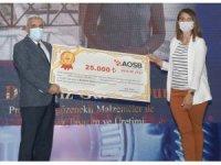 AOSB'nin ulusal çaptaki yarışmasında umut veren projeler