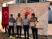 Mudanyalı arıcılar sertifikalarını aldı