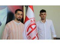 Antalyaspor'dan 2 yeni transfer