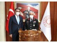 Jandarma Genel Komutanı Orgeneral Çetin, Tokat'ta temaslarda bulundu