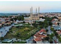 Cumhurbaşkanı Erdoğan müjdeyi verdi: Selimiye Cami Meydanı restore edilecek
