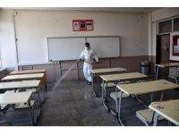 Söke Belediyesi YKS yapılacak okulları dezenfekte Etti