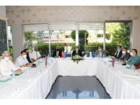 Turizm sektörünün yeniden canlandırılması toplantısı yapıldı