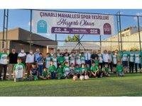 Çocuklara, kulüplerin antrenman yapabileceği nitelikte spor tesisleri