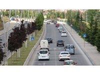 Çankırı'da bayram dönüşü trafiği başladı