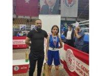 Türkiye Üst Minikler Boks Şampiyonası'nda Sezen Sude Karaboğa ikinci oldu