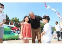 Sultangazili binlerce çocuk, bayramda eğlenceye doydu