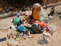 Mesire alanındaki çöp yığınları tepkiye neden oldu