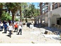 Başkan Çınar, Gündüzbey Sosyal Tesisleri'ni inceledi
