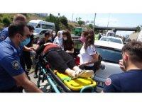 Pendik'te zincirleme kaza: 5 araç birbirine girdi, 2 kişi yaralandı