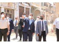 KKTC Başbakan Saner, Kapalı Maraş'ta açılan bölgeyi ziyaret etti