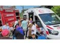 Zonguldak'ta korkutan yangın: 3'ü çocuk 4 kişi dumandan etkilendi