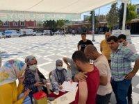 Şanlıurfa'da aşı teşvik çalışmaları sürüyor