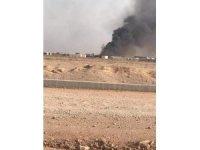Irak'ta Haşdi Şabi'ye ait silah ve mühimmat deposuna SİHA saldırısı