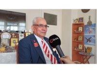 87 yaşındaki Kıbrıs gazisi, çıkarma günlerini yeniden yaşadı