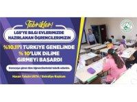 LGS'ye Gaziosmanpaşa Belediyesi Bilgi Evleri'nde hazırlanan öğrenciler hayallerine kavuştu