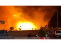Birçok noktada çıkan yangınlarda 11 kişi hastanelik oldu